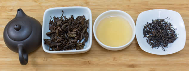 Aged Oriental Beauty Oolong tea