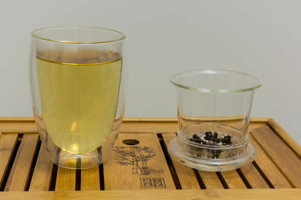 glass tea infusion cup